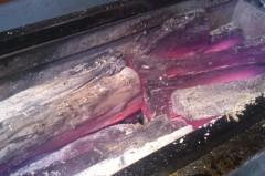 焼き物には土佐備長炭を使用